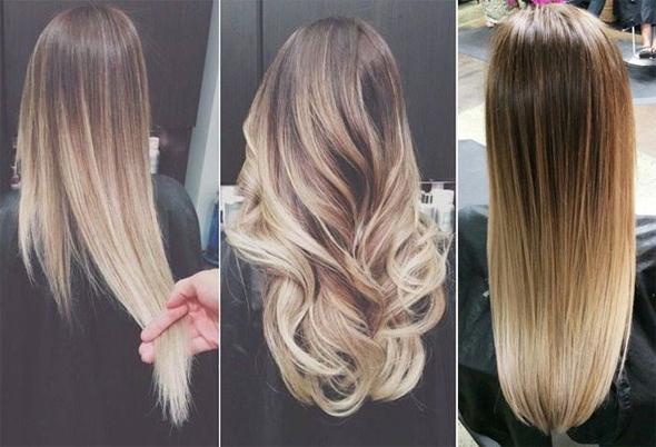Окрашивание волос не затрагивая корни